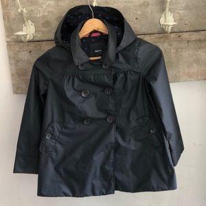 Lined Gap raincoat